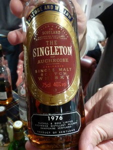 Singleton of Auchroisk 1976