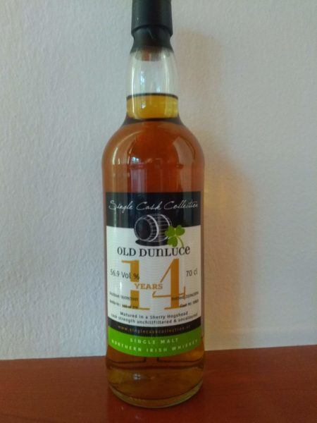 Old Dunluce 2001 Single Cask Collection
